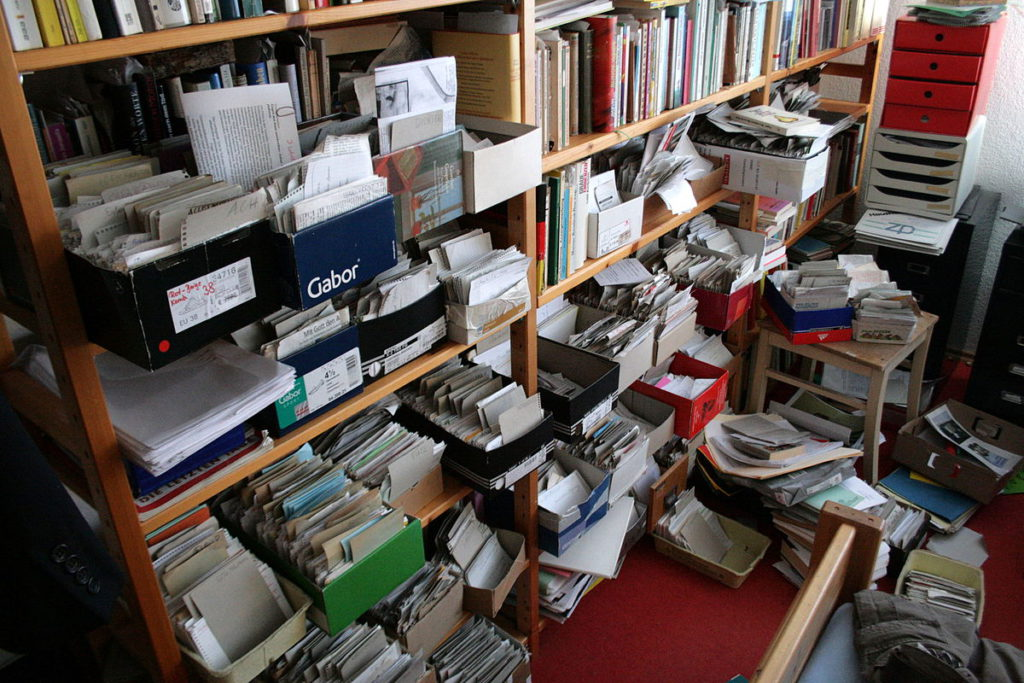 Physical Zettelkasten System. Don't lose a box!