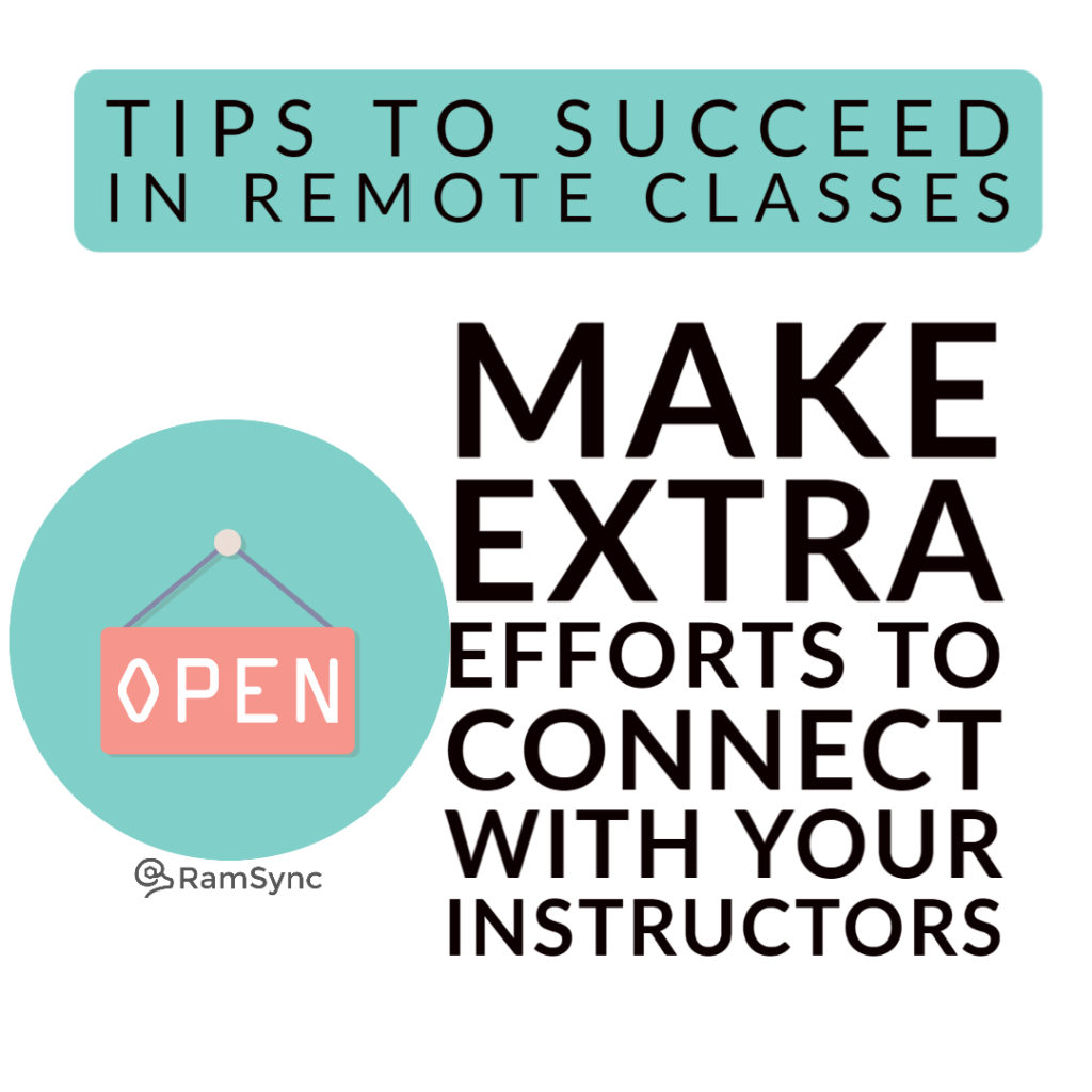 Tip 3: Connect with Instructors