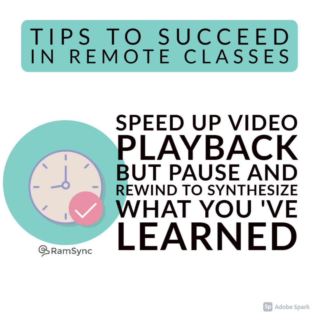 Tip 6: Speed up Video Playback