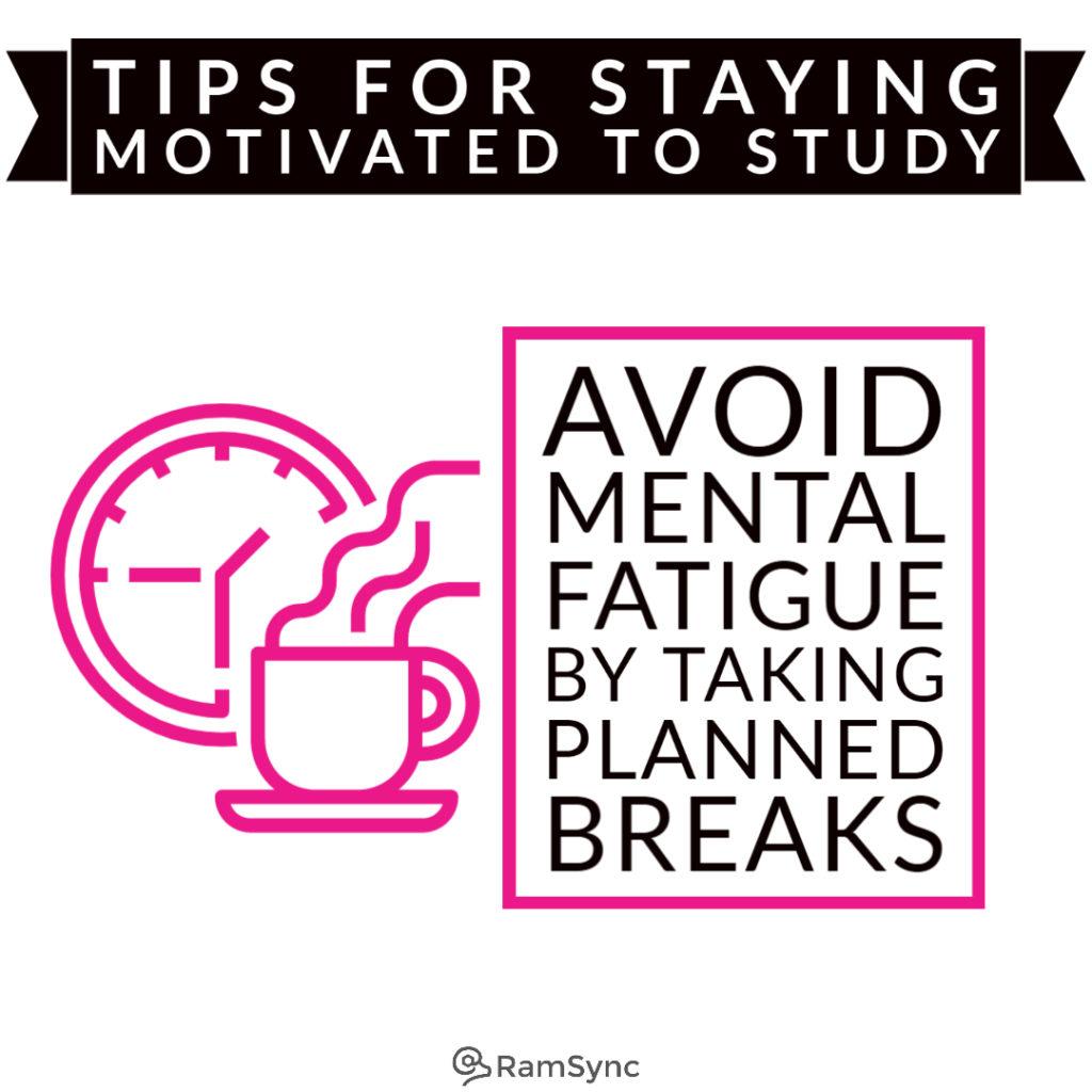 Study tip: Avoid brain drain by taking breaks!
