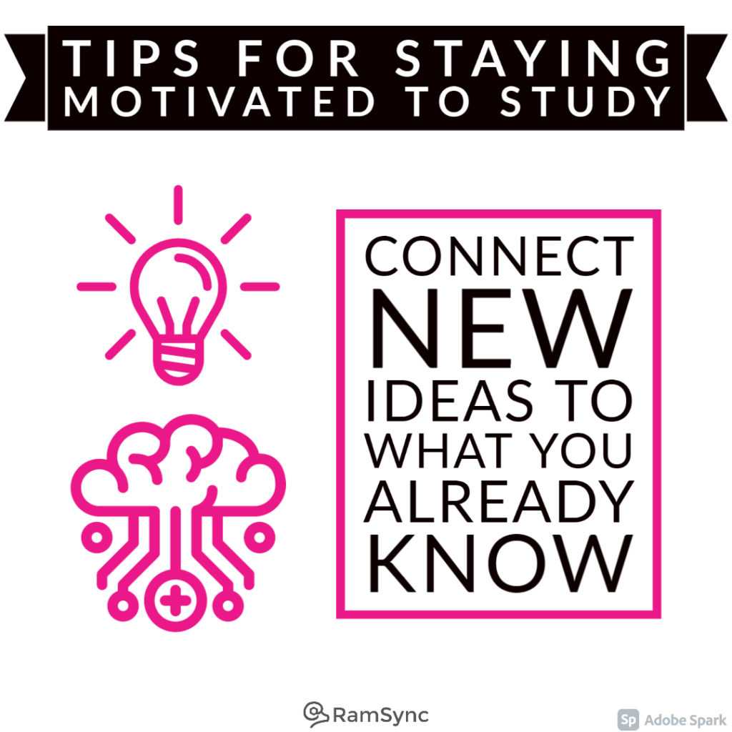 Study tip: Connect new ideas to what you already know!