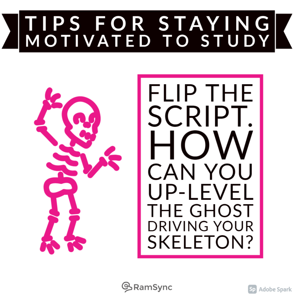 Study tip: Remember you are awesome! Level up and rock your knowledge!