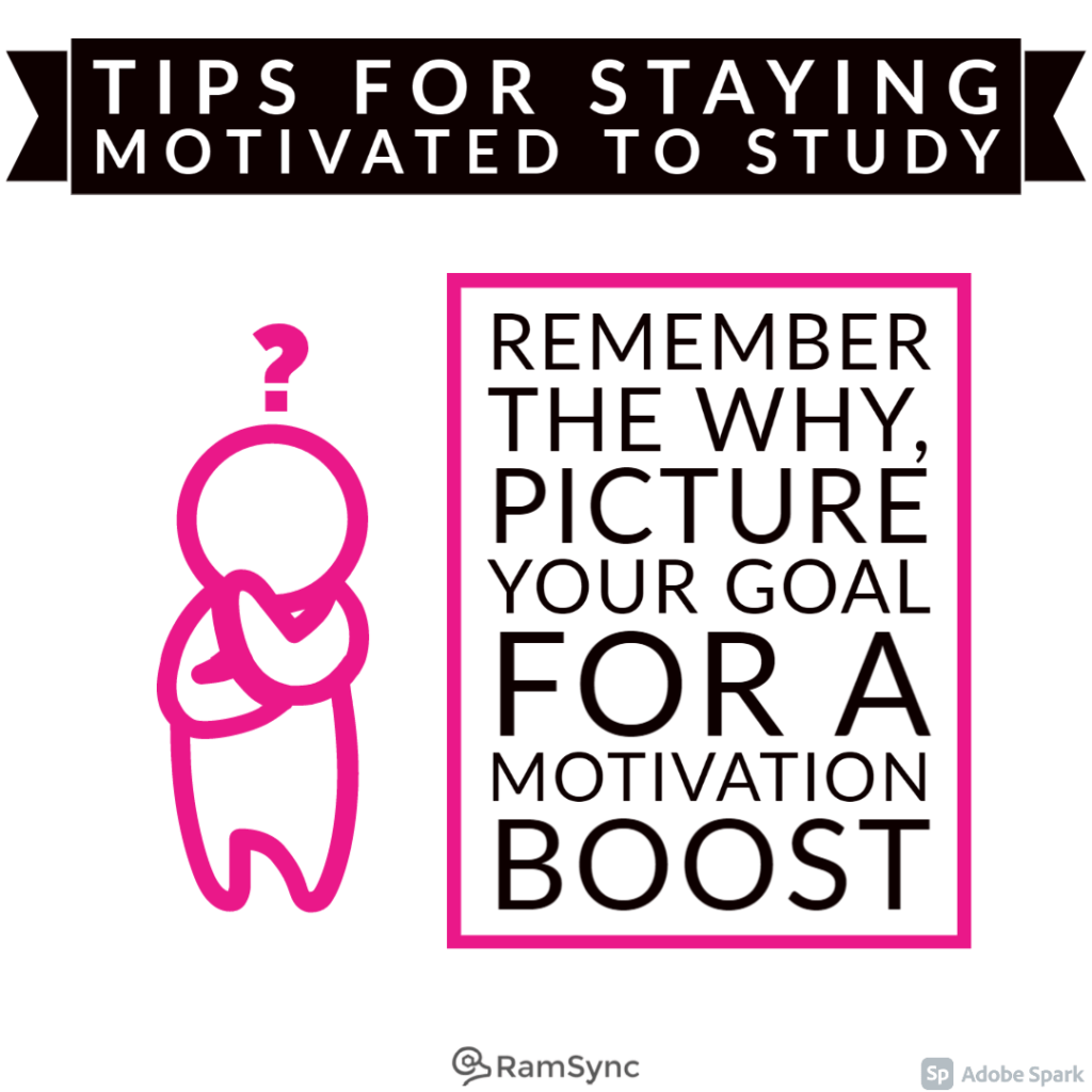 Study tip: Remember the why, the big picture!